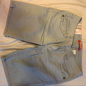 Unionbay size 7 denim shorts Bermuda